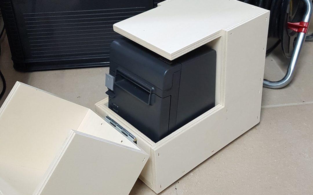 Drucker-Kistl für Ordersystem selber bauen